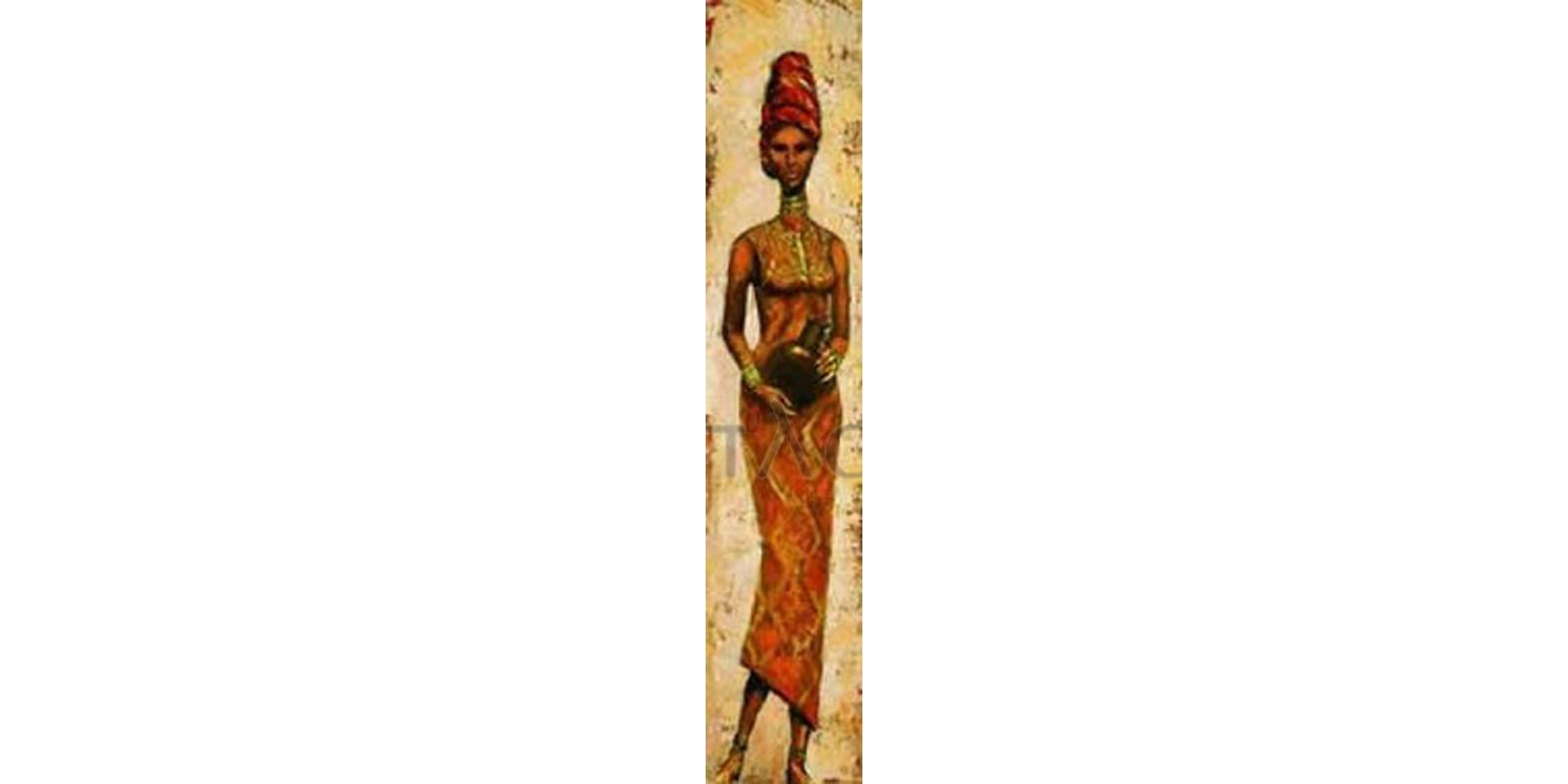 Terence Halley - African Woman II