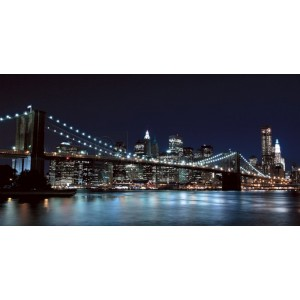 Pg-Plaisio - Brooklyn Bridge Night