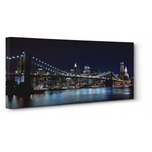 Pg-Plaisio - Brooklyn Bridge Night