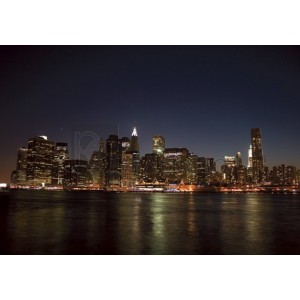 Pg-Plaisio - Lower Manhattan Night