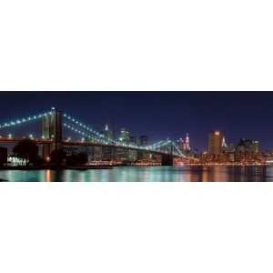 Pg-Plaisio - Pont de Brooklyn de Nuit