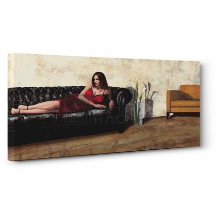 Andrea Antinori - The Black Sofa