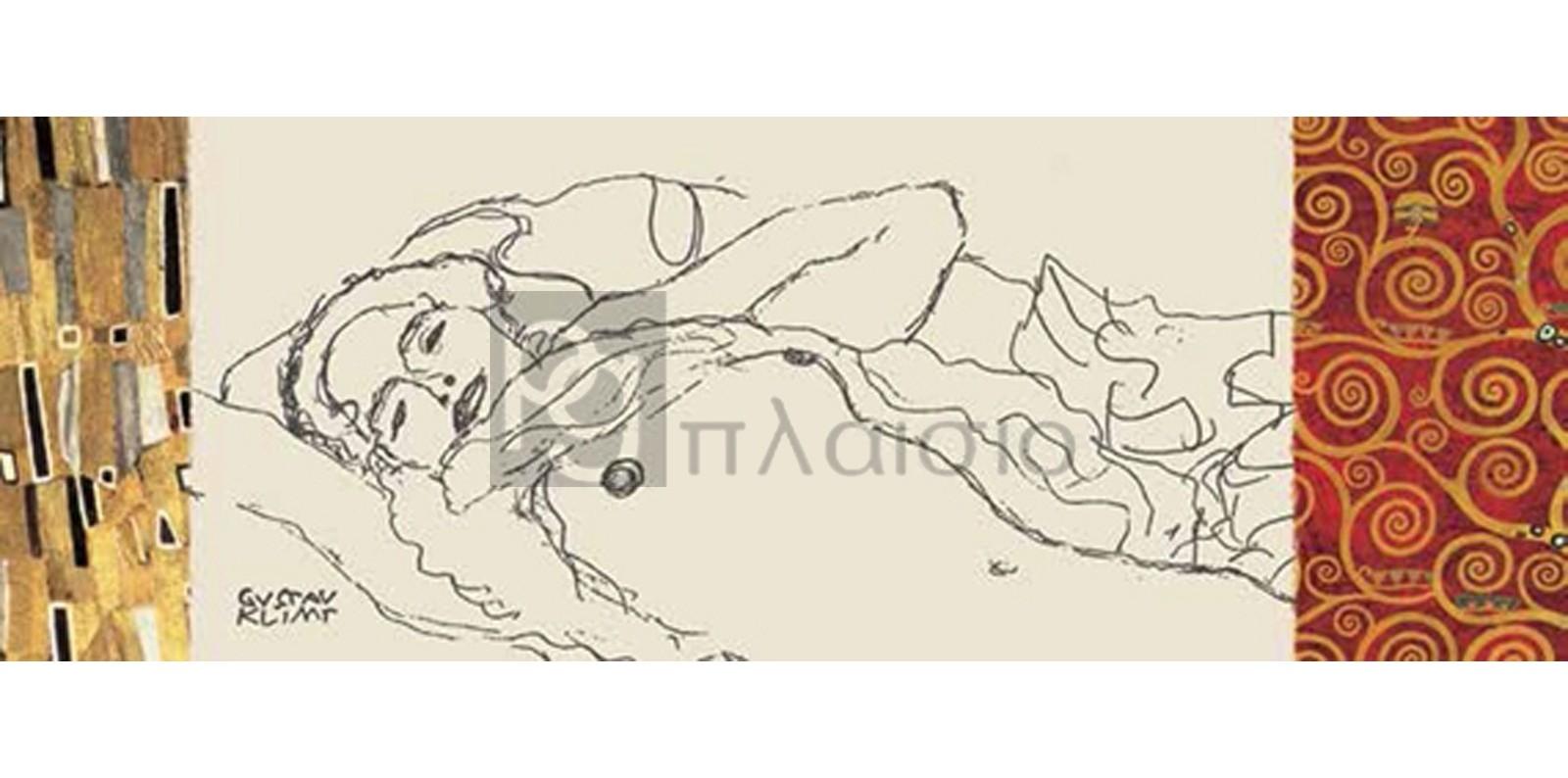 Gustav Klimt - Deco Woman I