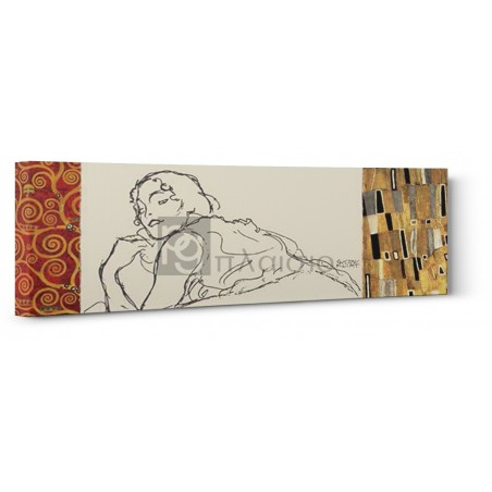 Gustav Klimt - Deco Woman II