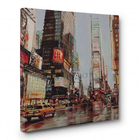 John B. Mannarini - Taxi in Times Square