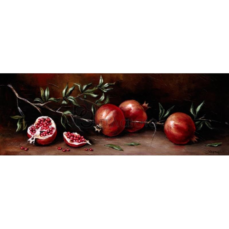 Χαραυγή Γ. - Pomegranate branch