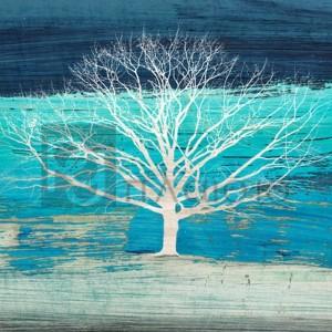 ALESSIO APRILE - Treescape #3 (Azure, detail)