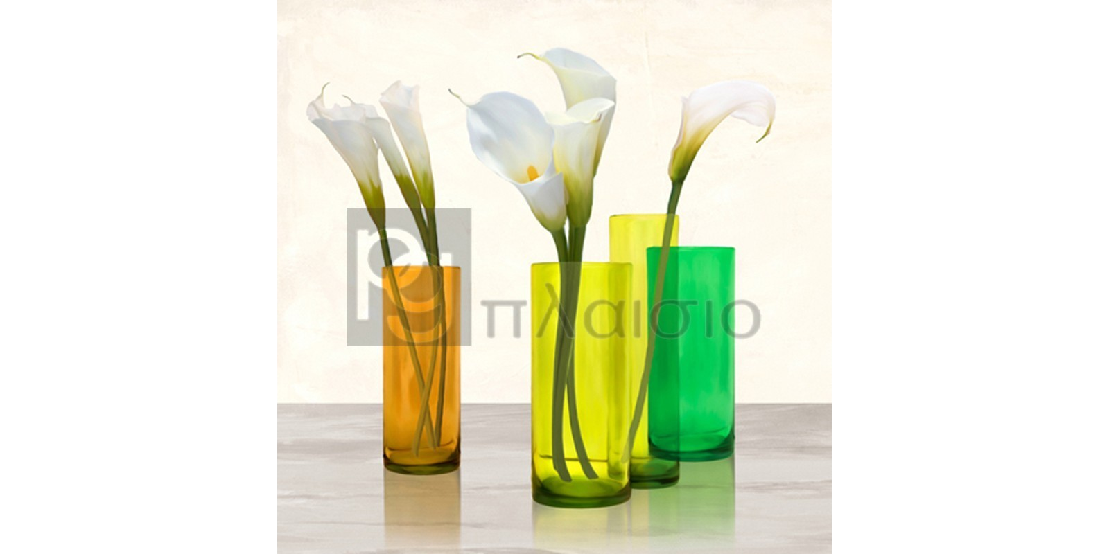 Cynthia Ann - Callas in crystal vases I (detail)