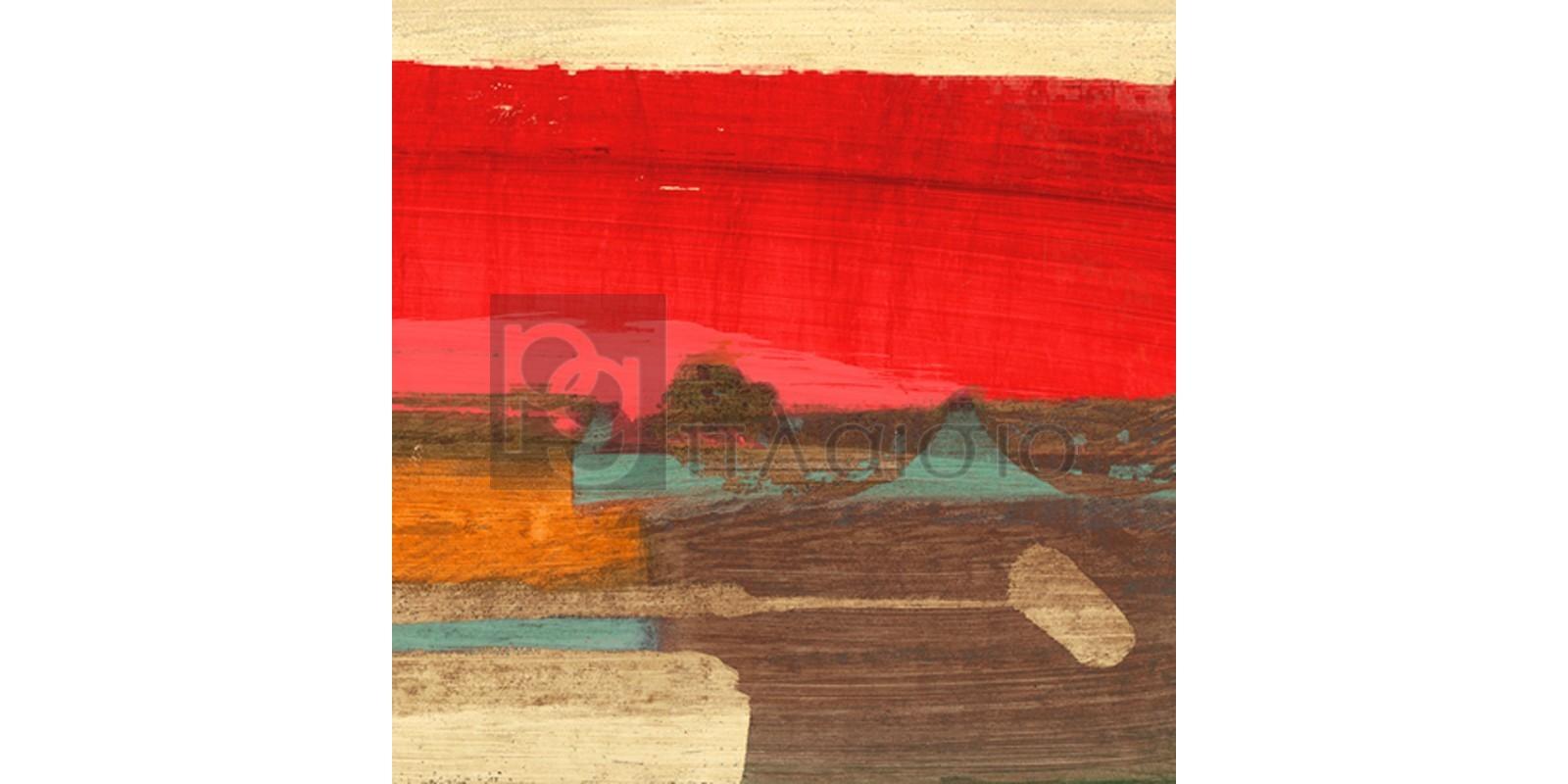 Leonardo Bacci - Moon Rising from the Crimson Sky II