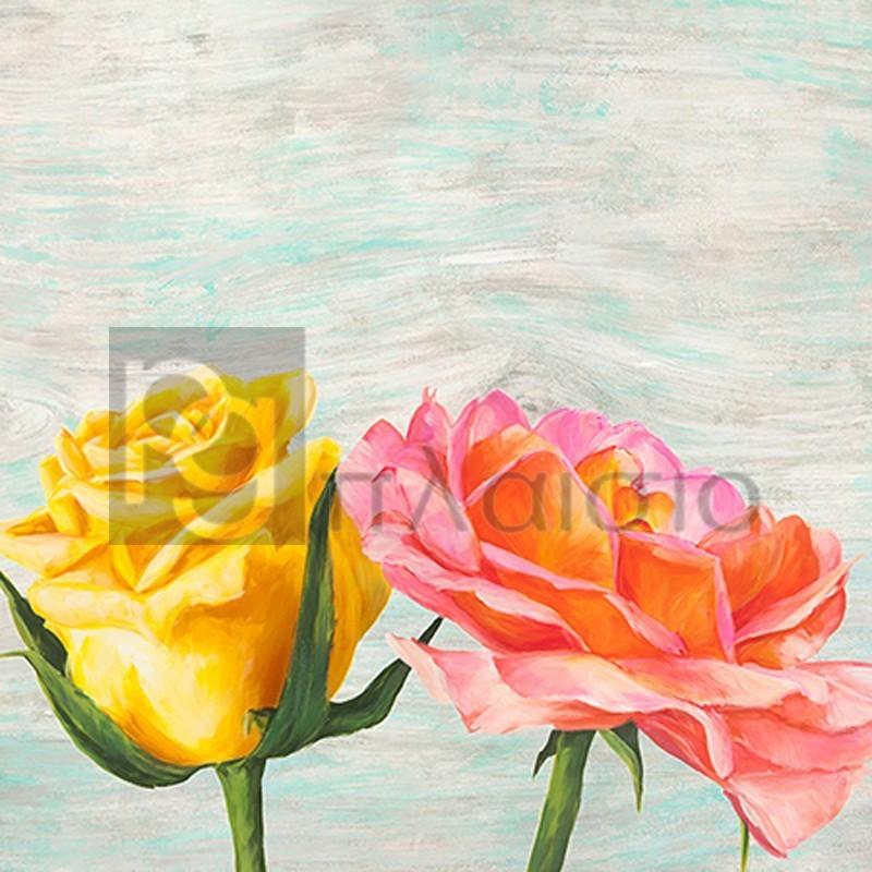 Jenny Thomlinson - Funky Roses I