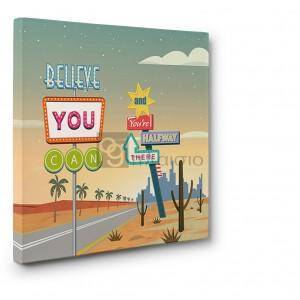 Steven Hill - Believe you can... (detail II)