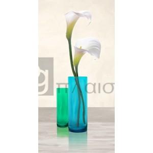 Cynthia Ann - Callas in crystal vases I