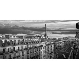Pangea Images - Morning in Paris (BW)