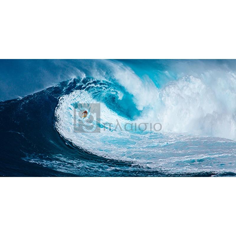 Pangea Images - Surfing the big wave, Tasmania (detail)