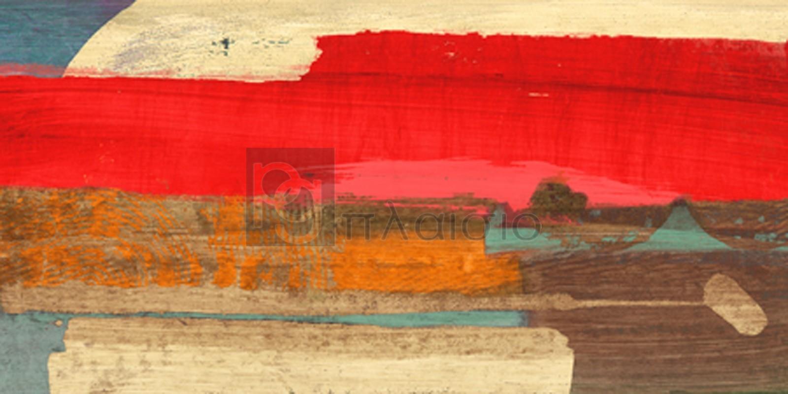 Leonardo Bacci - Moon Rising from the Crimson Sky