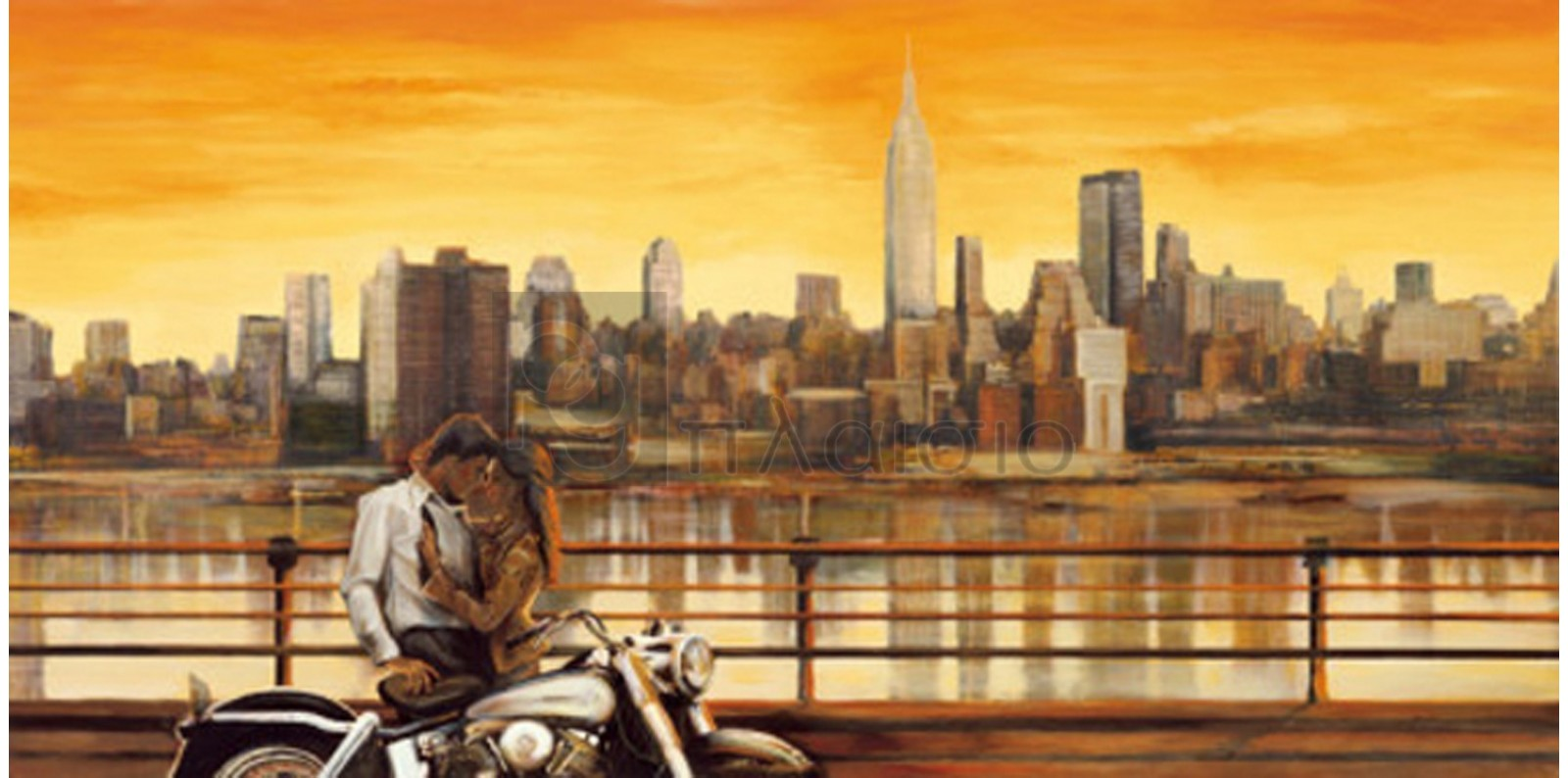 Edoardo Rovere - Lovers in New York