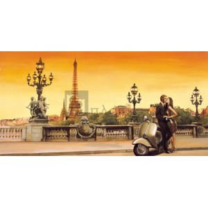 Edoardo Rovere - Lovers in Paris