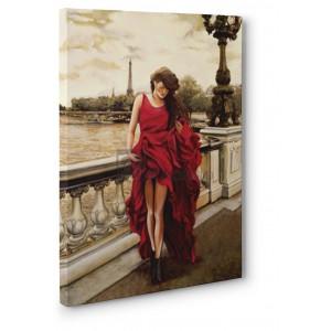 Edoardo Rovere - Woman in Paris