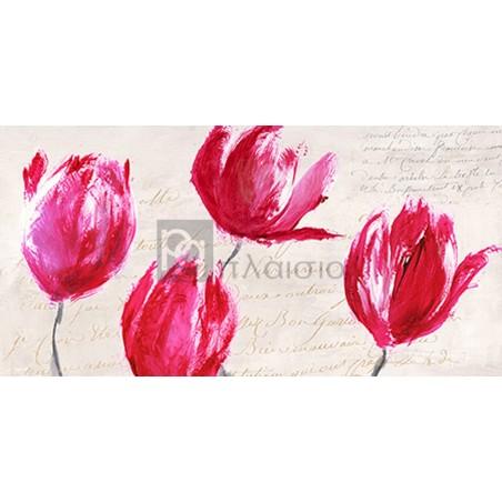 Muriel Phelipau - Crimson Tulips