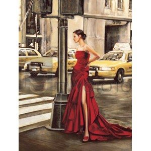 Edoardo Rovere - Woman in New York