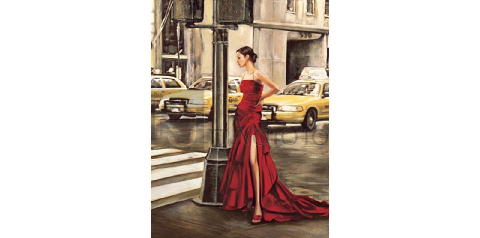 Edoardo Rovere - Woman in New York