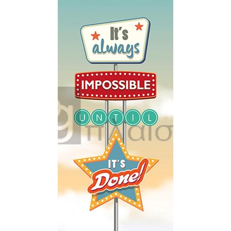 Steven Hill - It's always impossible...
