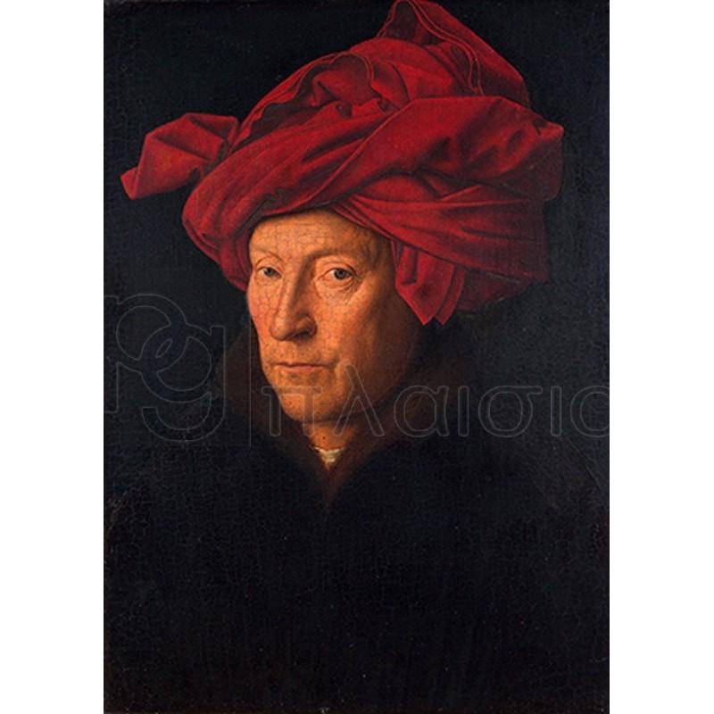 Jan Van Eyck - Portrait of a Man in a Turban