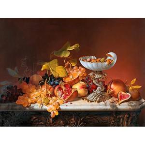 Johann Wilhelm Preyer - Natura morta con frutta