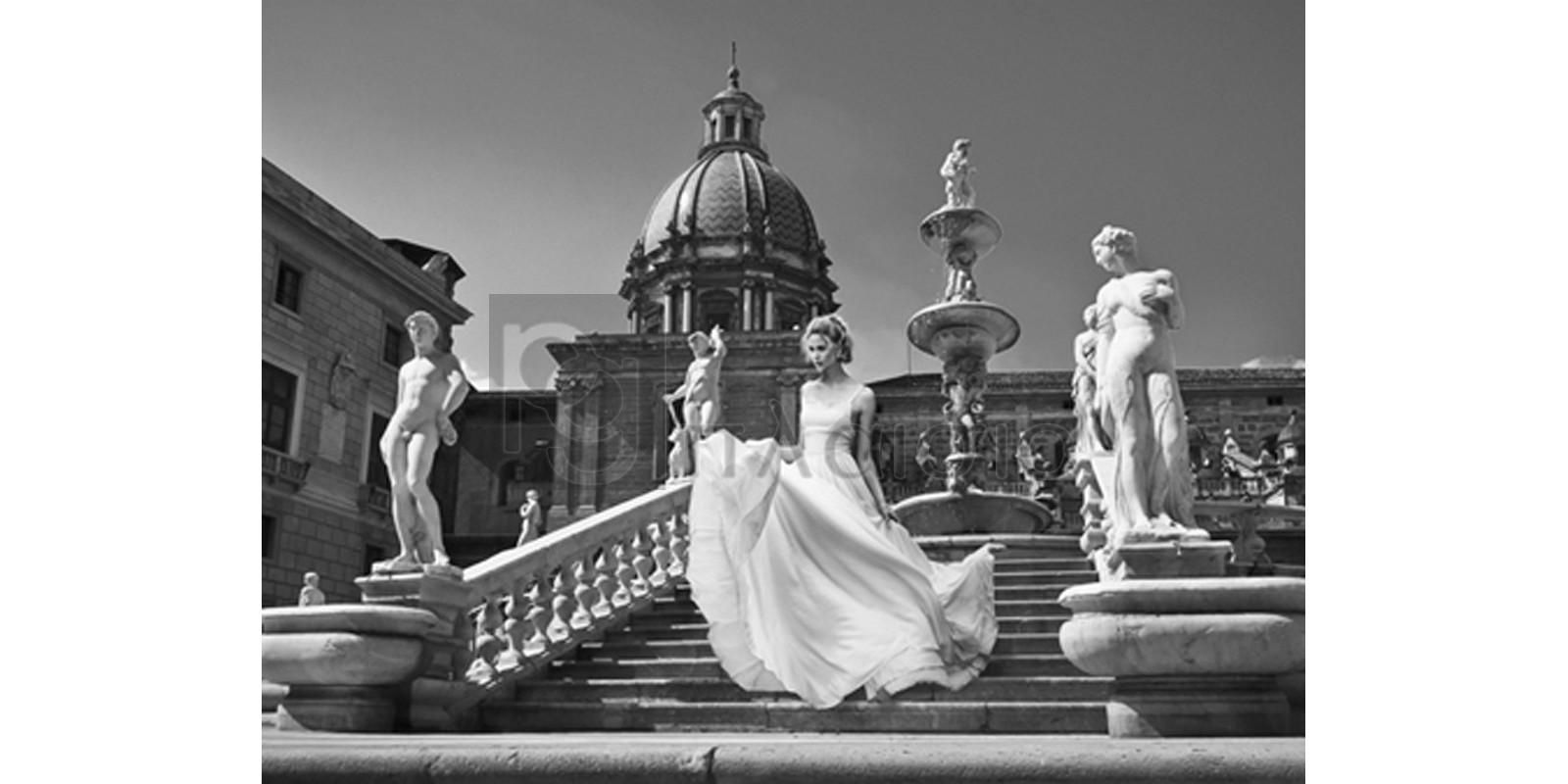 Haute Photo Collection - Escalier en Italie (detail)