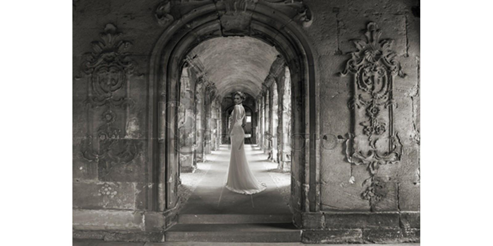 Haute Photo Collection - Under a Roman Colonnade