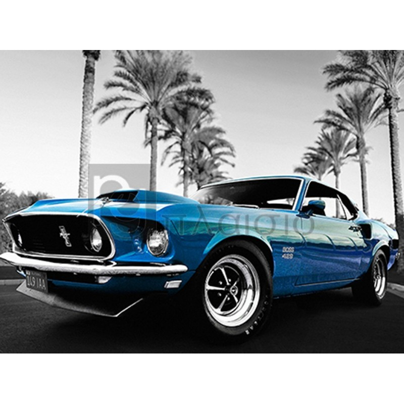 Gasoline Images - Blue Lightning, Santa Barbara, California