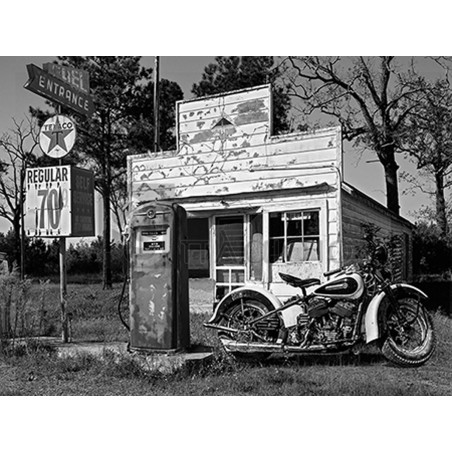 Gasoline Images - Abandoned gas station, New Mexico