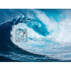 Pangea Images - Surfing the big wave, Tasmania