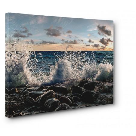 Pangea Images - Waves crashing, Point Reyes, California