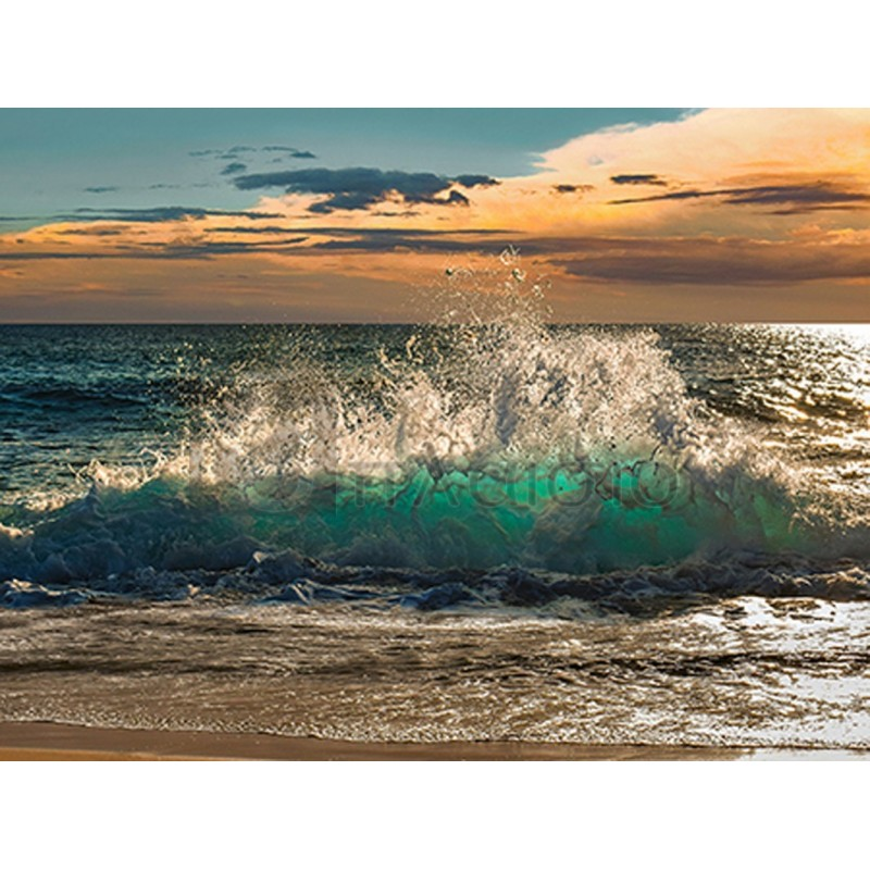 Pangea Images - Wave crashing on the beach, Kauai Island, Hawaii