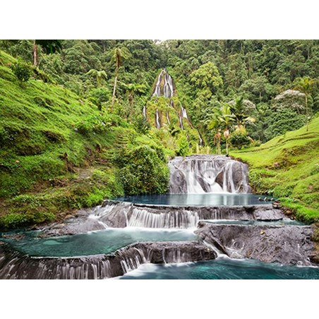 Pangea Images - Waterfall in Santa Rosa de Cabal, Colombia