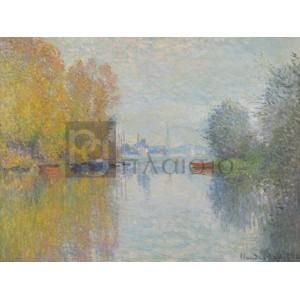 Claude Monet - Automne sur la Seine, Argenteuil