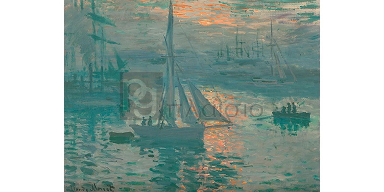 Claude Monet - Sunrise (Marine)