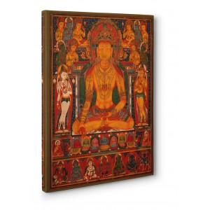 Anonymous - Buddha Ratnasambhava with Wealth Deitie
