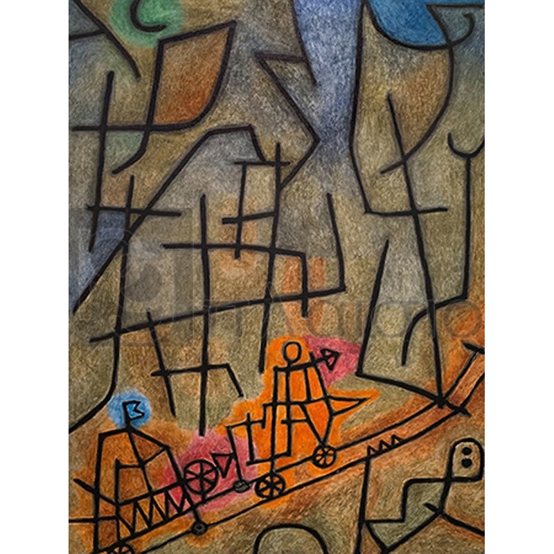 Paul Klee - Conquest of the Mountain