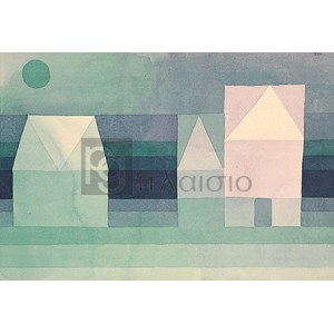 Paul Klee - Three Houses