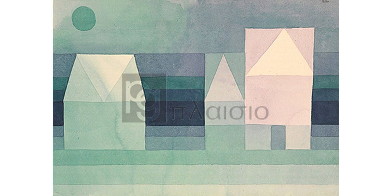 Paul Klee - Three Houses