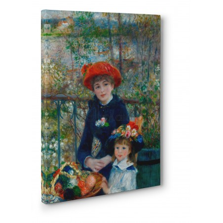 Renoir Pierre Auguste - Two Sisters (On the Terrace)