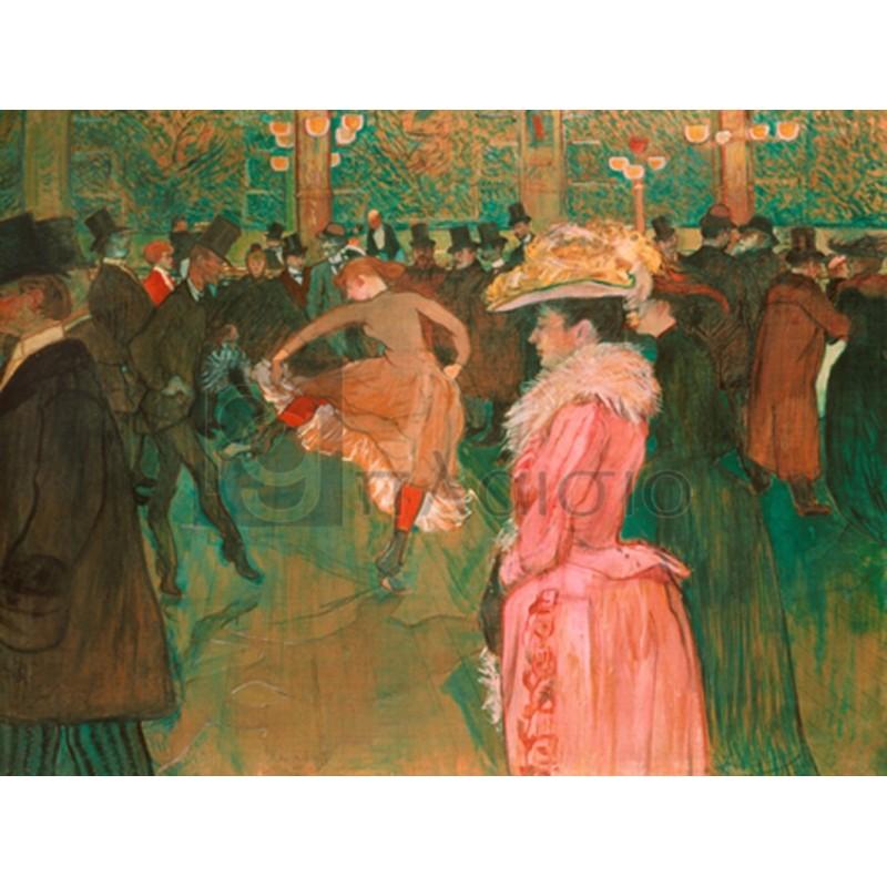 Henri Toulouse-Lautrec - At the Moulin Rouge: The Dance