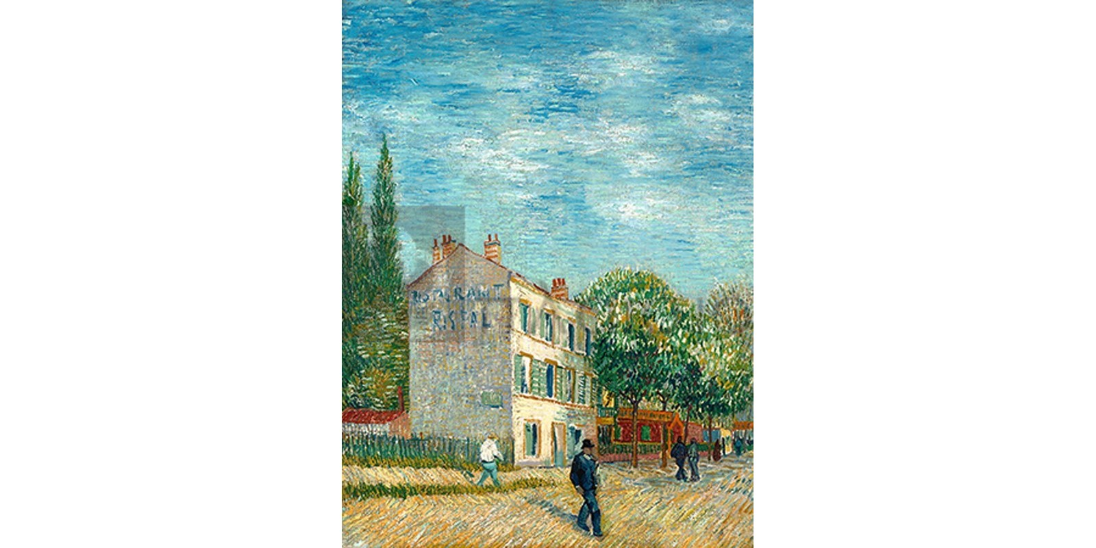 Vincent Van Gogh - The Rispal Restaurant in Asniéres