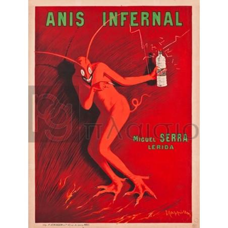 Leonetto Cappiello - Anis Infernal