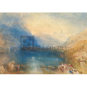 William Turner - The Lake of Zug
