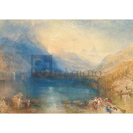 William Turner - The Lake of Zug