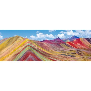 Pangea Images - Vinicunca Rainbow Mountain, Peru