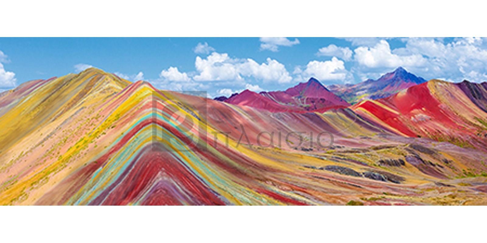 Pangea Images - Vinicunca Rainbow Mountain, Peru